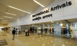 The IGI airport's Terminal 3 - T3, an integrated terminal for International and Domestic which can handle 34 million passengers annually ahead of the Commonwealth Games